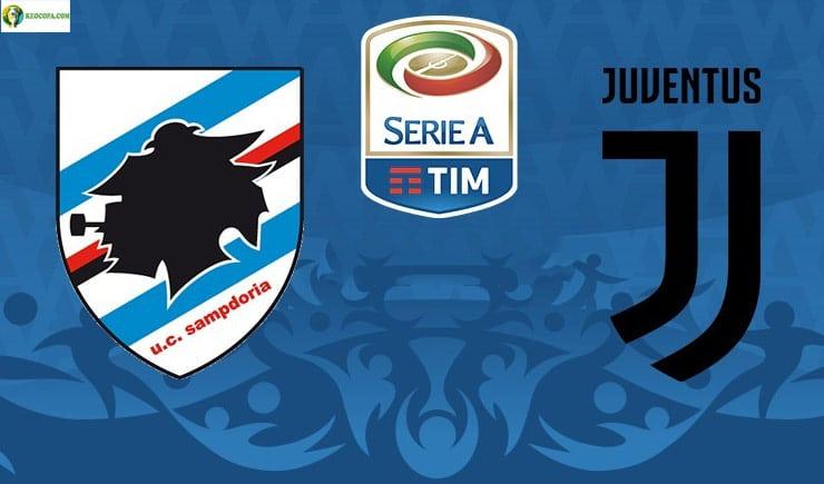 Soi kèo tỷ số nhà cái trận Sampdoria vs Juventus