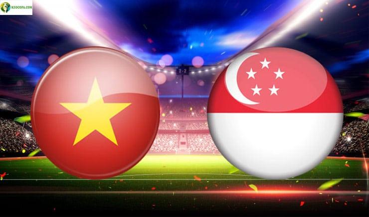 Soi kèo tỷ số nhà cái trận Việt Nam vs Singapore