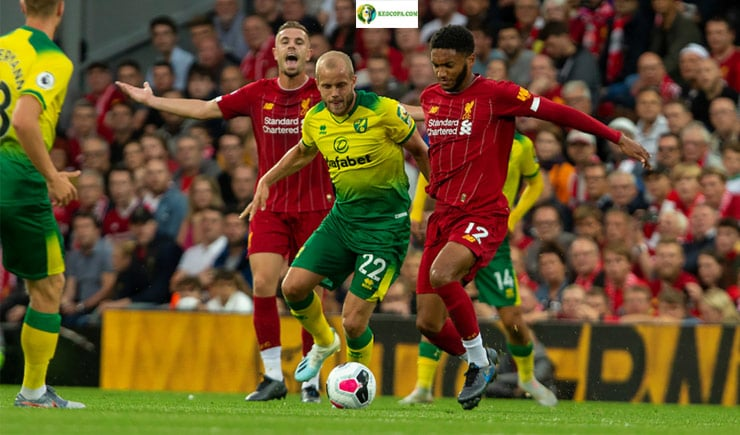 Soi kèo tỷ số bóng đá Norwich City vs Liverpool
