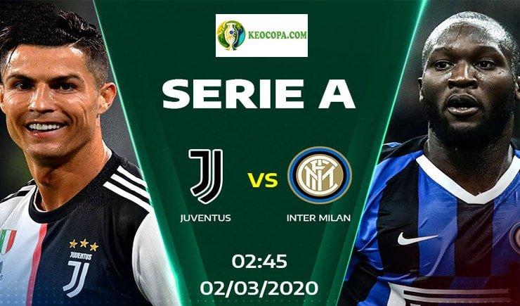 Soi kèo tỷ số nhà cái Juventus vs Inter Milan