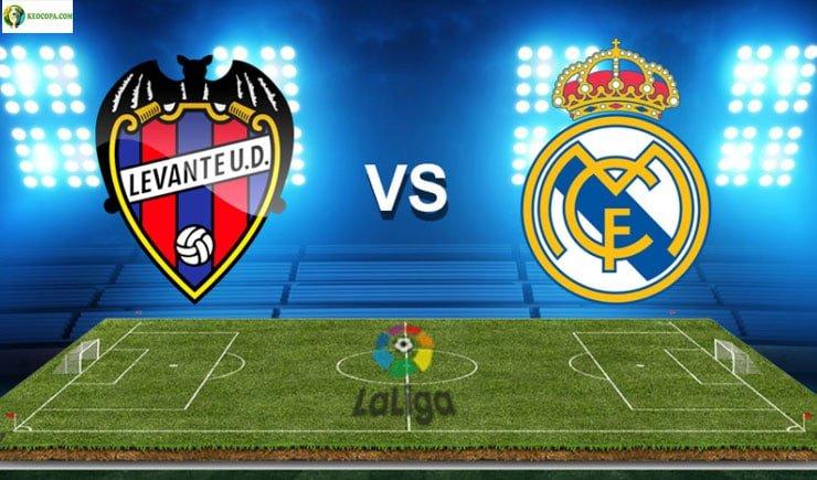 Soi kèo tỷ số nhà cái Levante vs Real Madrid