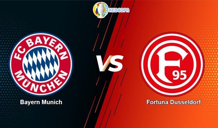 soi kèo trận đấu bóng đá Bayern Munich vs Fortuna Dusseldorf