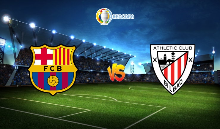 Soi kèo trận đấu bóng đá Barcelona vs Athletic Bilbao