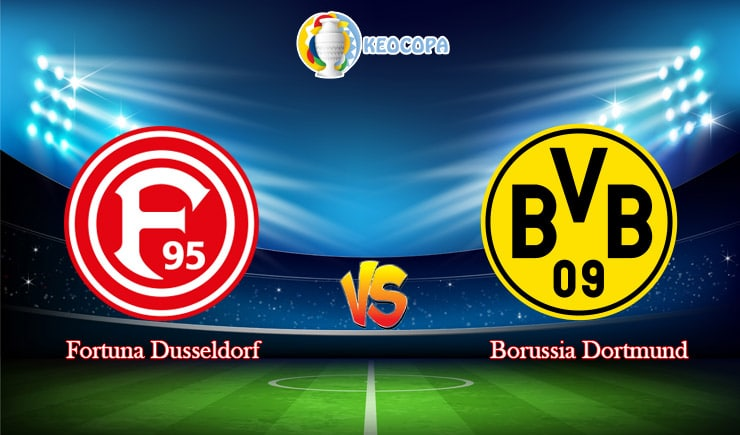 Soi kèo trận đấu bóng đá Fortuna Dusseldorf vs Dortmund