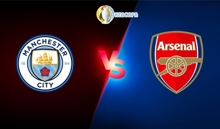 Soi kèo trận đấu bóng đá Manchester City vs Arsenal