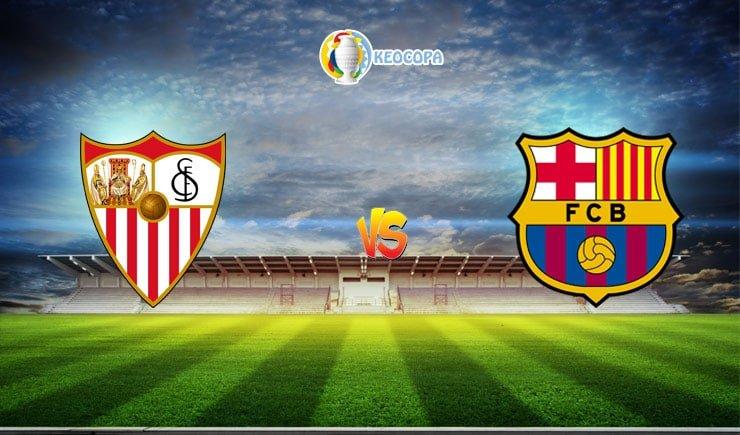 Soi kèo trận đấu bóng đá Sevilla vs Barcelona