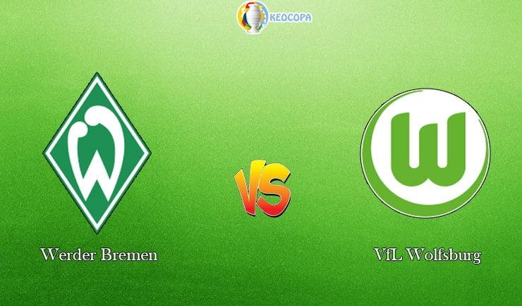 soi kèo trận đấu bóng đá Werder Bremen vs VfL Wolfsburg