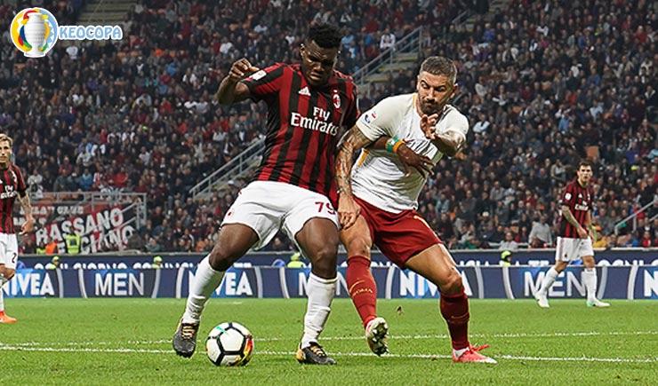 Soi kèo tỷ số bóng đá AC Milan vs AS Roma