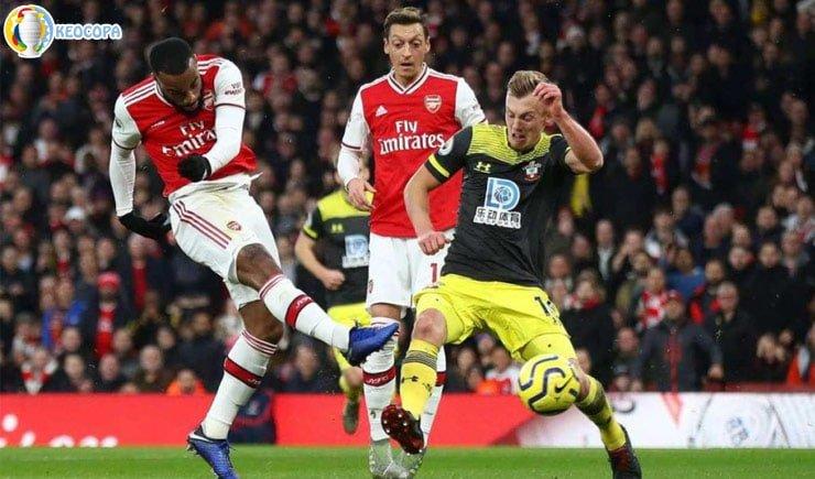 Soi kèo tỷ số bóng đá Southampton vs Arsenal