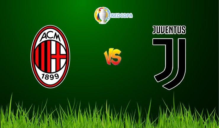 Soi kèo trận đấu bóng đá AC Milan vs Juventus