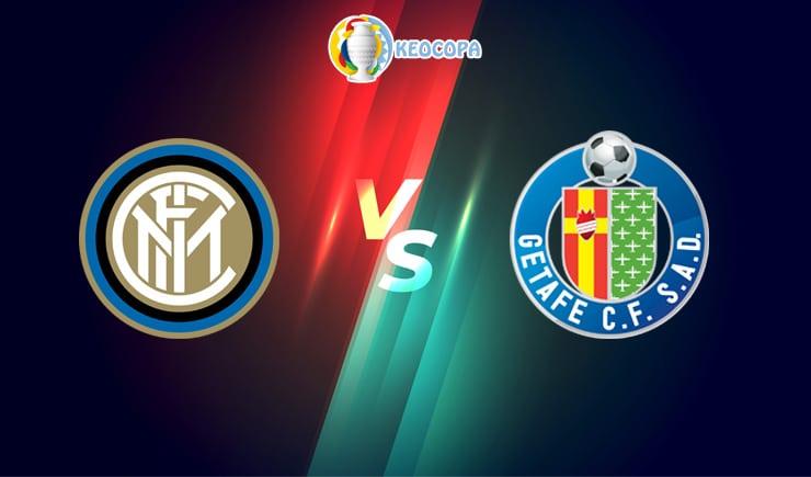 Soi kèo trận đấu bóng đá Inter Milan vs Getafe