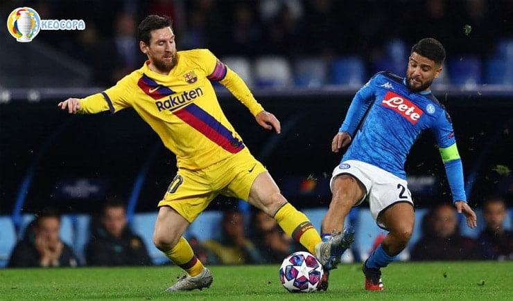 Soi kèo tỷ số bóng đá Barcelona vs Napoli