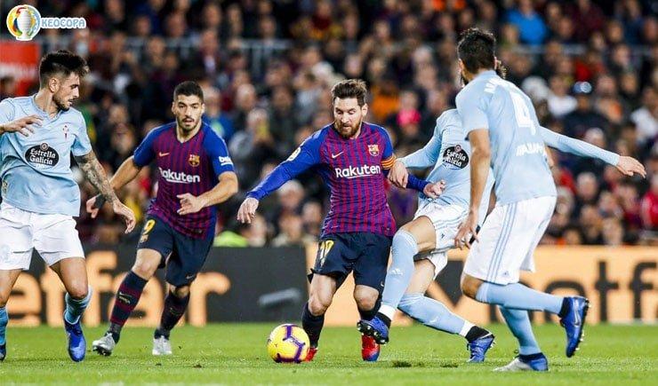 Nhận định tỷ số bóng đá Celta Vigo vs Barcelona