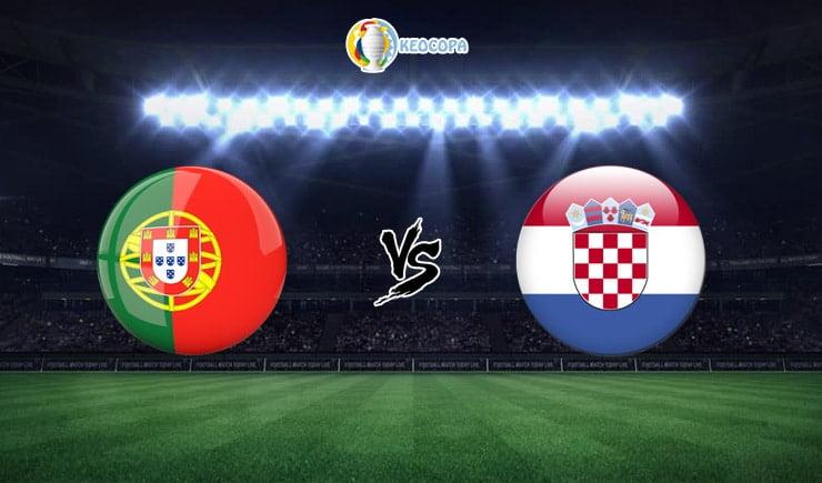 Soi kèo trận đấu bóng đá Bồ Đào Nha vs Croatia