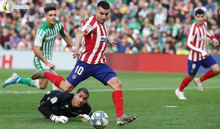Nhận định tỷ số bóng đá Atletico Madrid vs Real Betis