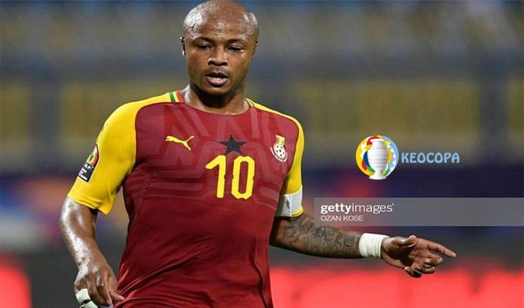 ngôi sao Ghana đánh bại Brazil