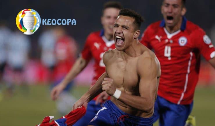Ngôi sao giúp Chile vô địch Copa America