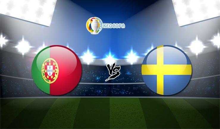 Soi kèo trận đấu bóng đá Bồ Đào Nha vs Thụy Điển