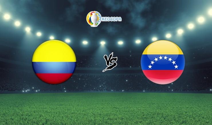 Soi kèo trận đấu bóng đá Colombia vs Venezuela