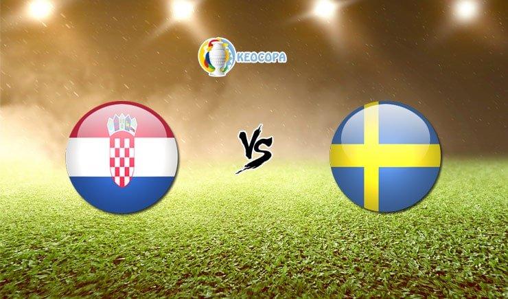 Soi kèo trận đấu bóng đá Croatia vs Thụy Điển