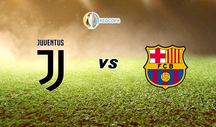 Soi kèo trận đấu bóng đá Juventus vs Barcelona