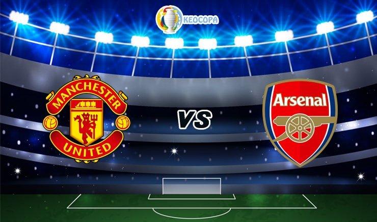 Soi kèo trận đấu bóng đá Manchester United vs Arsenal