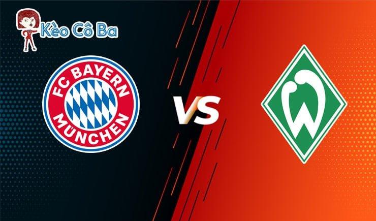 Soi kèo tỷ số trận Bayern Munich vs Werder Bremen, 21h30 – 21/11/2020