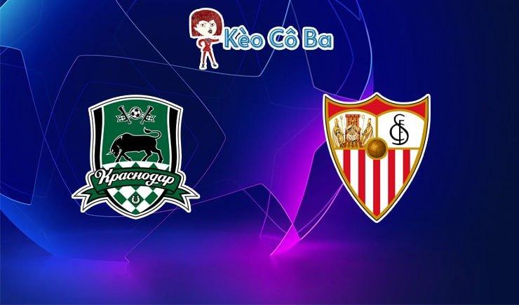 Soi kèo tỷ số trận Krasnodar vs Sevilla, 00h55 – 25/11/2020