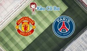 Soi kèo tỷ số nhà cái trận Manchester United vs PSG, 03h00 – 03/12
