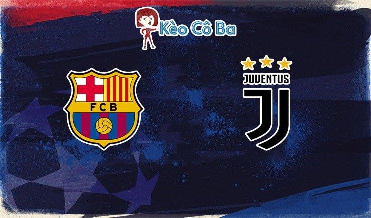 Soi kèo tỷ lệ nhà cái trận Barcelona vs Juventus, 03h00 – 09/12