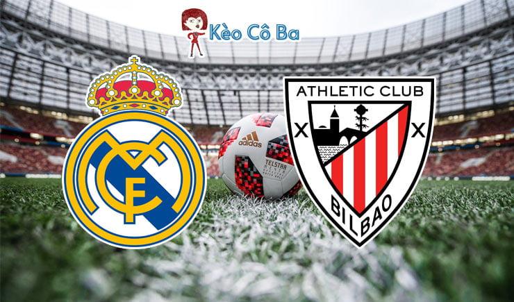 Soi kèo nhà cái trận Real Madrid vs Athletic Bilbao, 03h00 – 15/01