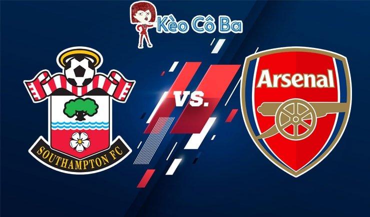 Soi kèo nhà cái trận Southampton vs Arsenal, 03h15 – 27/01/2021