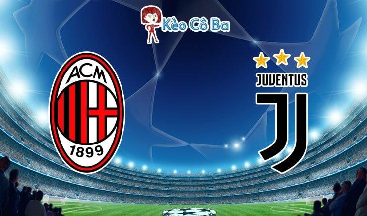Soi kèo tỷ số trận AC Milan vs Juventus, 02h45 – 07/01/2021