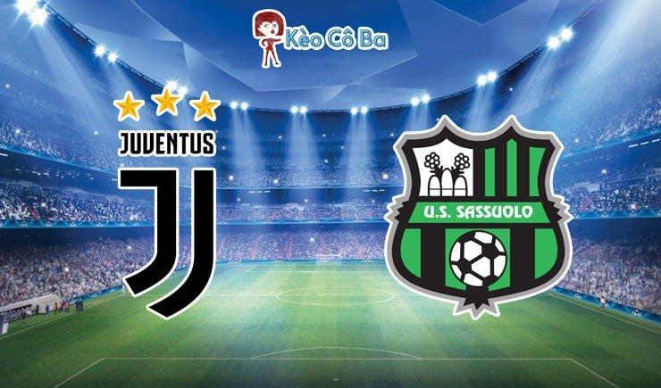 Soi kèo tỷ số trận Juventus vs US Sassuolo, 02h45 – 11/01