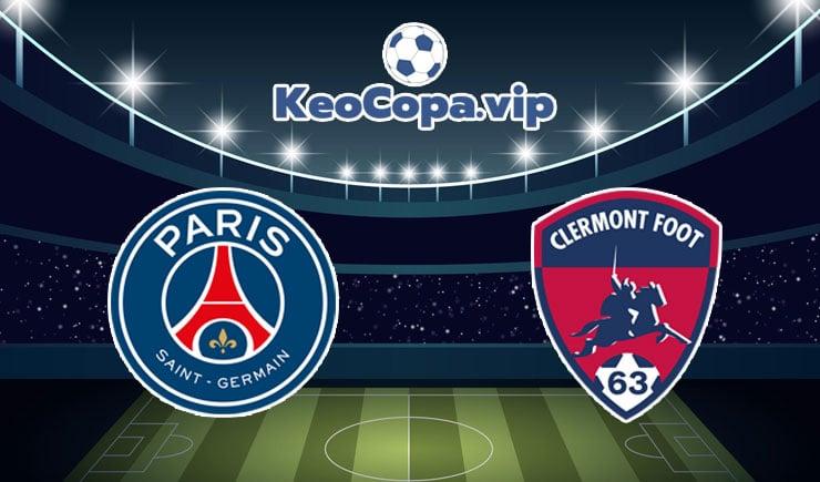 soi kèo PSG vs Clermont Foot